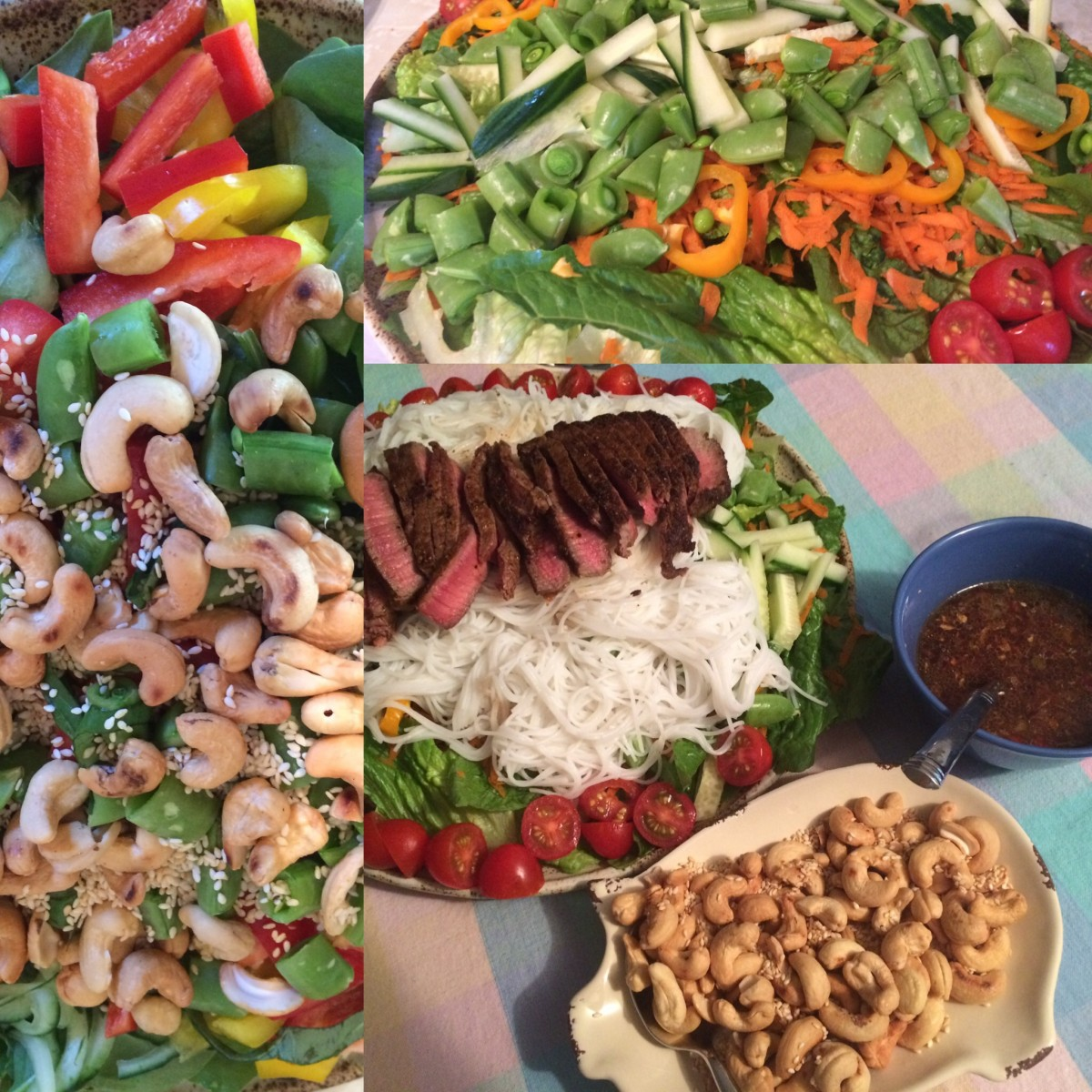 loaded-asian-salad-topped-with-seared-beef