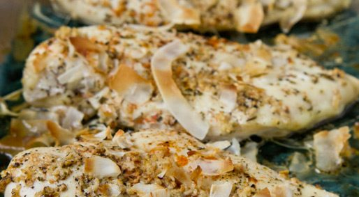 Foodie Friday – Baked Coconut Chicken