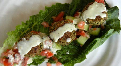 Foodie Friday – Baked Falafel Lettuce Wraps