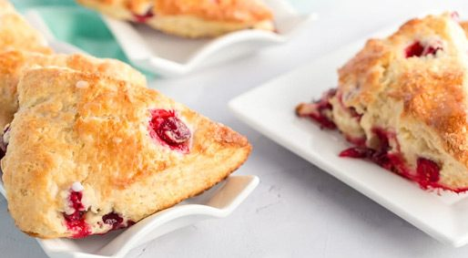 Foodie Friday – Cranberry Lemon Scones