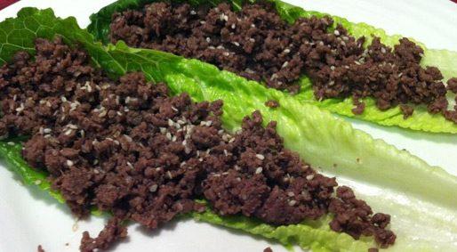 Foodie Friday – Bulgogi Lettuce Boats