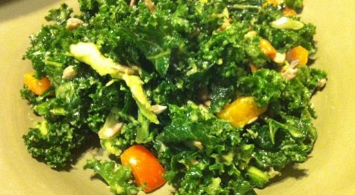Foodie Friday – Massaged Kale Salad