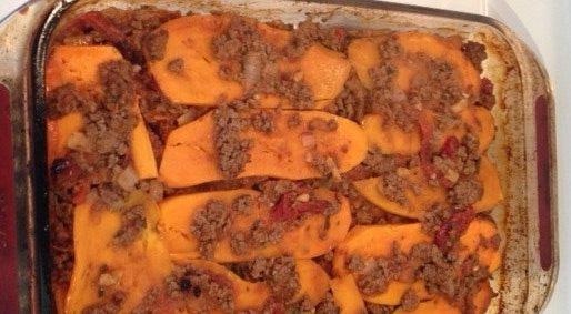 Paleo Bison Lasagna