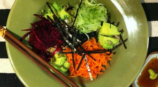 Foodie Friday – Loaded Sushi Bowl