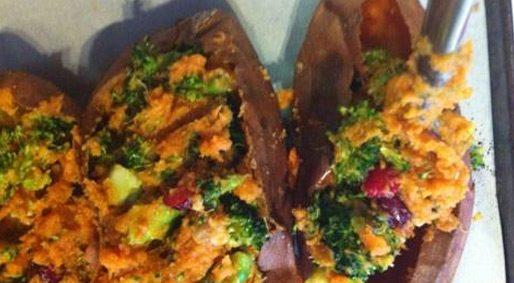 Foodie Friday – Stuffed Sweet Potatoes